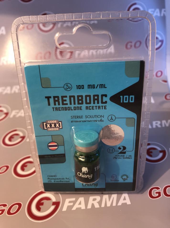TRENBOAC (тренбоац) 100, 100MG/ML - ЦЕНА ЗА 2 МЛ. купить в России